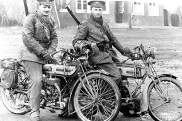 Soldiers, Guy Motorcycles